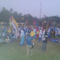 Photo taken at Stadion Tumpang by agus n. on 6/4/2014