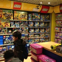 Photo taken at Lego Store by Alex C. on 3/30/2013