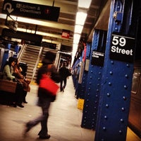 Photo taken at MTA Subway - 59th St/Columbus Circle (A/B/C/D/1) by mido on 12/20/2012