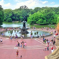 Photo taken at Bethesda Fountain by mido on 7/4/2013