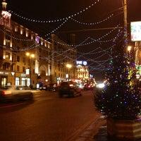 Снимок сделан в Тверская улица пользователем Ksenia R. 1/15/2013