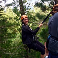 Photo taken at Just Live Zipline Treetop Tour by Kalyn R. on 3/20/2016