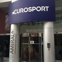 Photo taken at Eurosport by Alexey V. on 1/18/2016