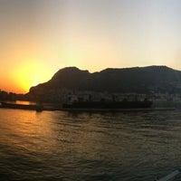 Photo taken at Gibraltar Bay by Kaloyan S. on 7/3/2013