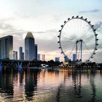 Photo taken at The Singapore Flyer by Gary W. on 6/30/2013