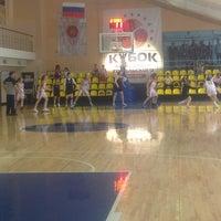 Photo taken at Школа УОР 4 им. Гомельского Баскетбол by Katherine S. on 6/1/2013