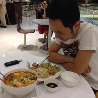 Photo taken at Food Court @ Crescent Mall by Kerin J. on 4/16/2014