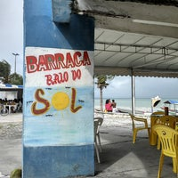 Photo taken at Barraca Raio do Sol by Roney S. on 5/19/2013