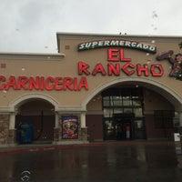 Photo taken at El Rancho Supermercado by Karen G. on 6/22/2014
