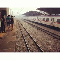 Photo taken at KTM Line - Kajang Station (KB06) by Elaine T. on 6/23/2013
