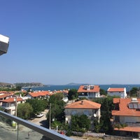 Foto tomada en Maison Vourla Hotel por Güner Y. el 8/5/2018