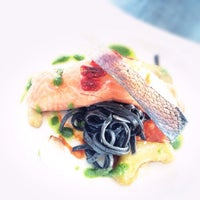 Photo taken at Garvy's French Fine Dining by Garvy B. on 7/4/2014