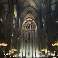 Photo taken at Basílica de Santa Maria del Mar by Pol M. on 3/5/2013