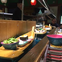 Photo taken at Isobune Sushi by Smruthi S. on 2/27/2017