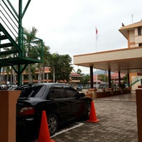 """Photo taken at Universitas Putra Indonesia """"YPTK"""" by Hartos B. on 9/7/2013"""