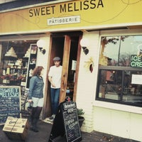 Photo taken at Sweet Melissa Patisserie by Jacques P. on 3/18/2013