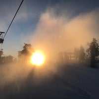 Photo taken at Romme alpin by Michael F. on 1/14/2017