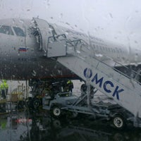 Photo taken at Omsk Central International Airport (OMS) by Sergey I. on 5/15/2013