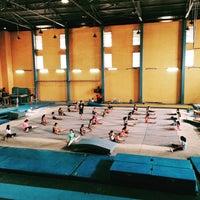 Photo taken at Gavrila Gymnastics Club by Herdy N. on 8/22/2015