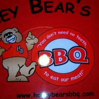 Photo taken at Honey Bear's BBQ by Doug G. on 1/12/2013
