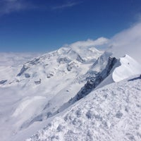 Photo taken at Breithorn occidentale by Matteo M. on 4/22/2013