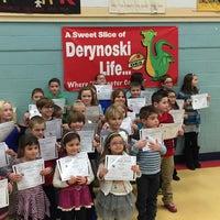 Photo taken at Derynoski School by Jay P. on 2/23/2016