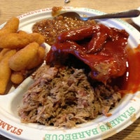 Photo taken at Stamey's Old Fashioned Barbecue by Josh H. on 10/6/2012