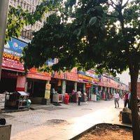 Photo taken at Yashwant Place Market by Heejeong K. on 5/6/2017