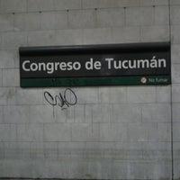 Foto tomada en Estación Congreso de Tucumán [Línea D] por Sebas P. el 2/21/2013
