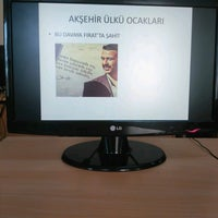 Photo taken at Aksehir Halk Egitim Merkezi ve Aksam Sanat Okulu by Hamza K. on 4/3/2017