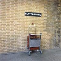 Photo taken at Platform 9¾ by Arisa K. on 1/2/2013
