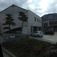 Photo taken at 真田中学校 by ぱん on 3/12/2016