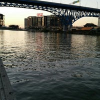 Photo taken at Cuyahoga River by Wanderson S. on 9/22/2015