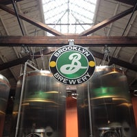 Photo taken at Brooklyn Brewery by Allyson L. on 9/29/2012