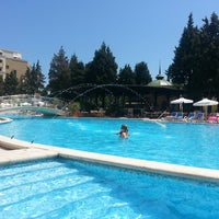 Photo taken at Main Pool @ Sol Palace Hotel by Араик А. on 7/11/2013