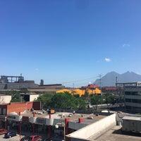 Photo taken at Metrorrey Estación Anáhuac by Billy on 9/7/2016