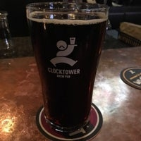 Photo taken at Clocktower Brew Pub by Ernie M. on 3/12/2016