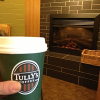 Photo taken at Tully's Coffee by Erika N. on 2/18/2013