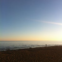 Photo taken at Пляж в Парке 300-летия by Yana G. on 5/3/2013