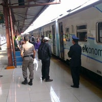 Photo taken at Pasar Senen Station by Benny H. on 11/15/2012