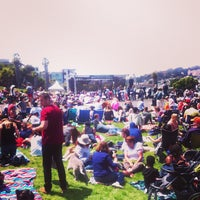 Photo taken at Symphony In the Park at Dolores Park by Anastasiya K. on 7/21/2013
