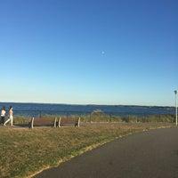 Photo taken at Raritan Bay Waterfront Park by Naura on 9/12/2016