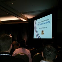 Photo taken at ApacheCon by Benjamin F. on 2/26/2013