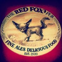 Снимок сделан в The Red Fox Pub пользователем Natalia P. 5/1/2013