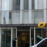 Photo taken at Siège de la Banque Postale by Roudy L. on 10/17/2016