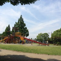 Photo taken at 市民の森羽島公園 by Tomoyuki on 6/7/2015