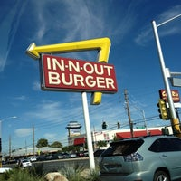 Photo taken at In-N-Out Burger by Haley on 10/15/2012