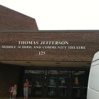 Photo taken at Thomas Jefferson Community Center & Theatre by Angelica H. on 7/21/2012