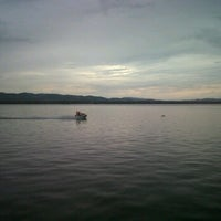 Photo taken at Taman Teratai - Kendari Beach by Fajar A. on 1/1/2012