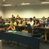 Photo taken at Coggin College of Business by Kenny H. on 9/15/2011